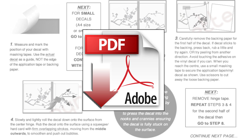 Download Decal Installation PDF Guide