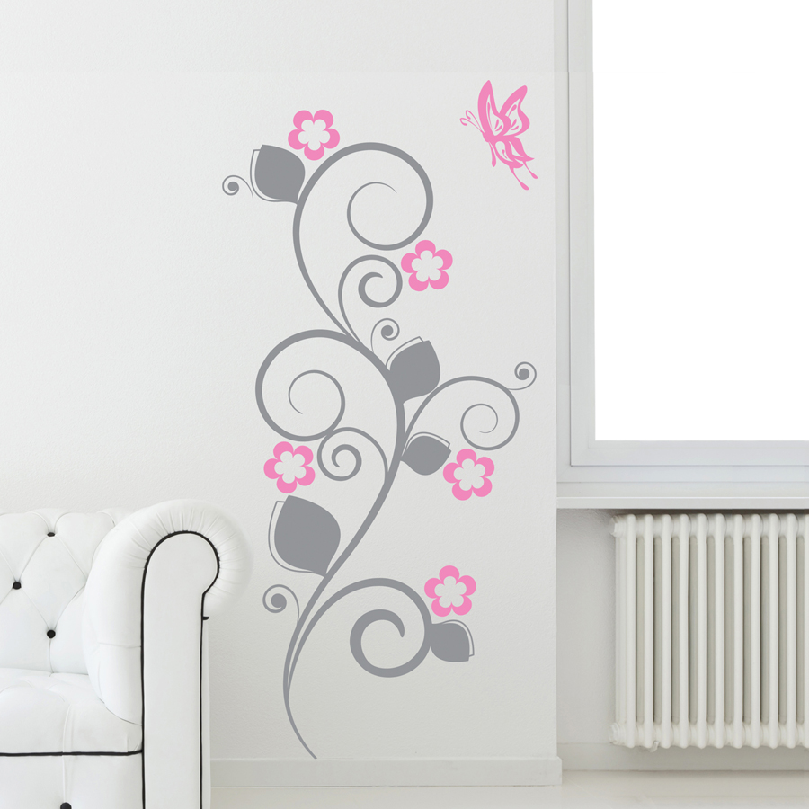 PRETTY FLORA: Quality Made-in-Singapore Decal from Decorette