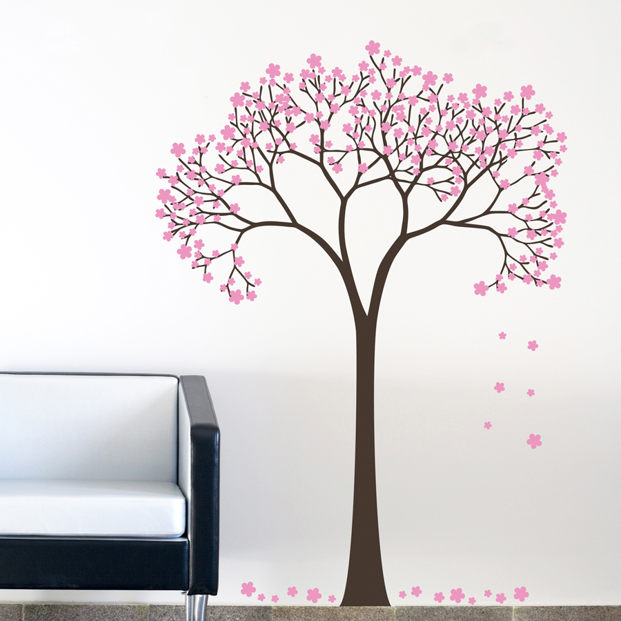 SAKURA BLOSSOM TREE: Quality Made-in-Singapore Decal from Decorette