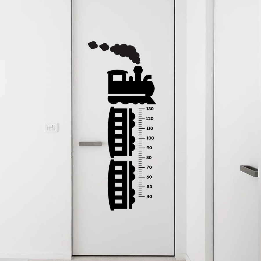 Kids nursery train growth chart train growth chart quality made in singapore decal from decorette nvjuhfo Choice Image