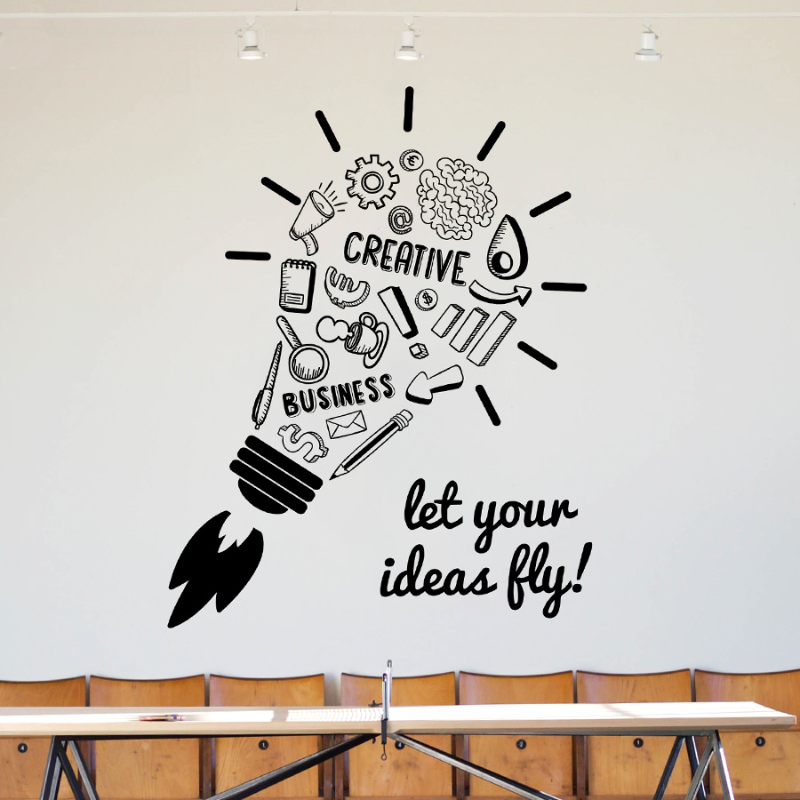 LET YOUR IDEAS FLY: Quality Made-in-Singapore Decal from Decorette