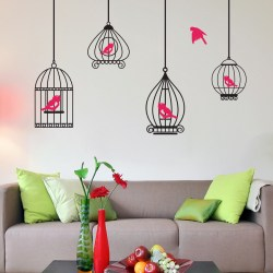 BIRDCAGES: Quality Made-in-Singapore Decal from Decorette