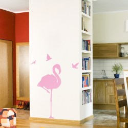 TROPICAL FLAMINGO: Quality Made-in-Singapore Decal from Decorette