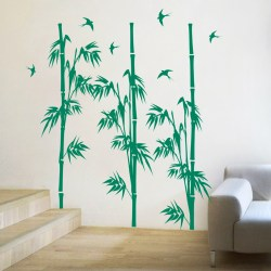 BAMBOO MURAL: Quality Made-in-Singapore Decal from Decorette