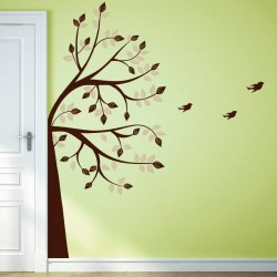 WHIMSICAL TREE: Quality Made-in-Singapore Decal from Decorette