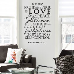 FRUIT OF THE SPIRIT: Quality Made-in-Singapore Decal from Decorette
