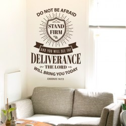STAND FIRM: Quality Made-in-Singapore Decal from Decorette