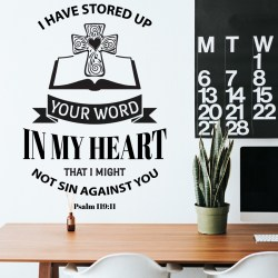 YOUR WORD: Quality Made-in-Singapore Decal from Decorette