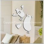 Jumping Jellybeans Mirror Decal