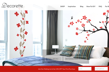 7 Awesome Features of Decorette's New Website