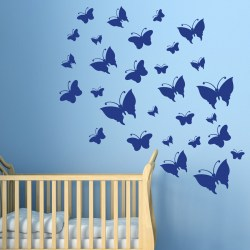 FLUTTERBY BUTTERFLY: Quality Made-in-Singapore Decal from Decorette