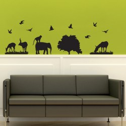 IT'S A JUNGLE OUT THERE: Quality Made-in-Singapore Decal from Decorette