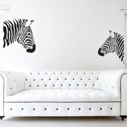 STRIPY ZEBRA: Quality Made-in-Singapore Decal from Decorette