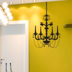 CHANDELIER: Quality Made-in-Singapore Decal from Decorette