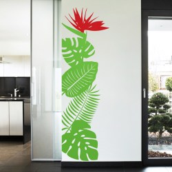 TROPICAL GARDEN: Quality Made-in-Singapore Decal from Decorette