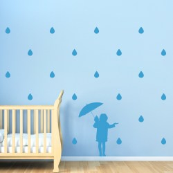 FUN IN THE RAIN: Quality Made-in-Singapore Decal from Decorette