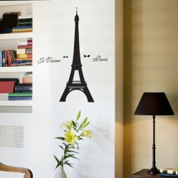 EIFFEL TOWER: Quality Made-in-Singapore Decal from Decorette