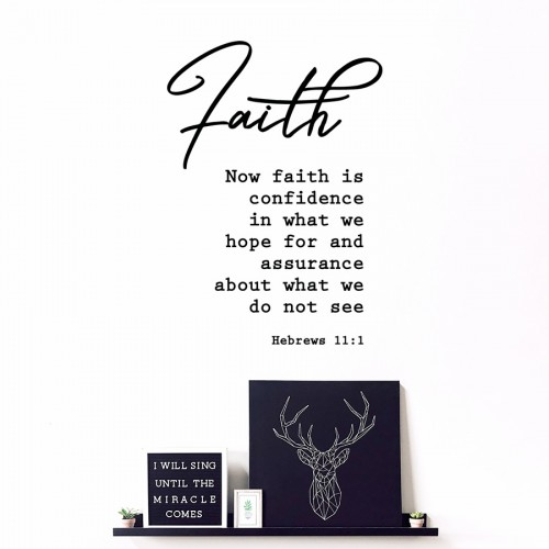 FAITH (HEBREWS 11:1)