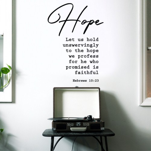 HOPE (HEBREWS 10:23)