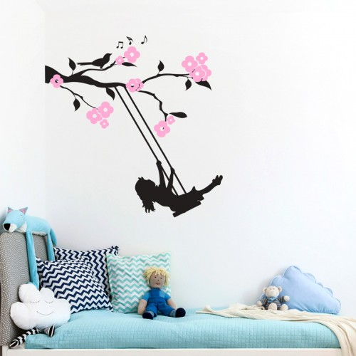 FLORAL BRANCH SWING