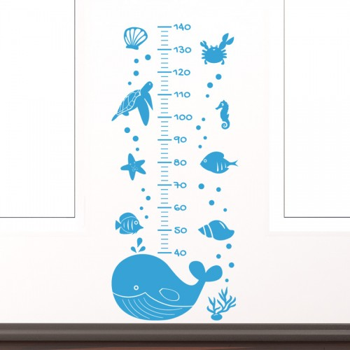 UNDERWATER GROWTH CHART