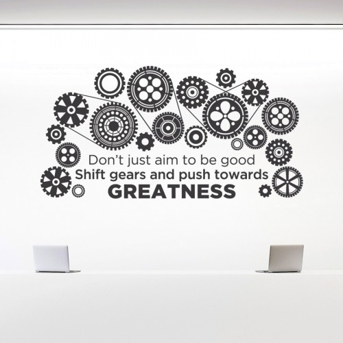 GEARS TO GREATNESS