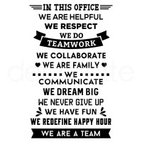 IN THIS OFFICE (DREAM BIG)