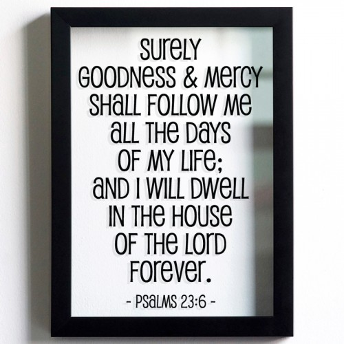 GOODNESS & MERCY