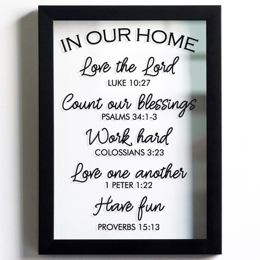 IN OUR HOME