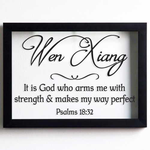 NAME PSALMS 18:32